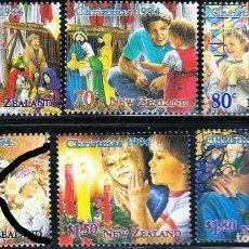 Sellos: NUEVA ZELANDA 1994 IVERT 1319/24 *** NAVIDAD - ESCENAS NAVIDEÑAS. Lote 238827540
