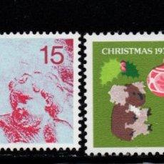 Timbres: AUSTRALIA 602/03** - AÑO 1976 - NAVIDAD. Lote 240678875
