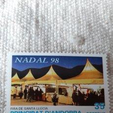 Sellos: NAVIDAD 1998 ANDORRA ESPAÑOLA EDIFIL 267 NUEVA FILATELIA COLISEVM. Lote 241420690