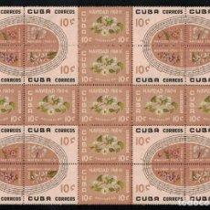Sellos: CUBA 1960 CHRISTMAS NG - FLOWERS, NOTES, CHRISTMAS. Lote 241497835