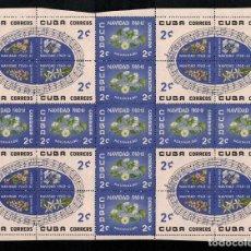 Sellos: CUBA 1960 CHRISTMAS MNH - FLOWERS, NOTES, CHRISTMAS. Lote 241498120