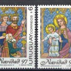Sellos: URUGUAY 1997 CHRISTMAS MNH - CHRISTMAS. Lote 241512340