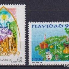 Sellos: URUGUAY 1999 CHRISTMAS MNH - CHRISTMAS. Lote 241513825