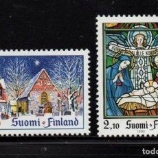 Sellos: FINLANDIA 1161/62** - AÑO 1992 - NAVIDAD. Lote 241762340
