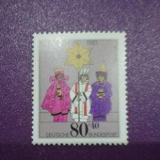 Sellos: SELLO ALEMANIA R. FEDERAL NUEVOS/1983/NAVIDAD/RELIGION/REYES/AMGOS/KENIA/ESTRELLA/CREENCIAS. Lote 241888495