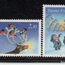 Sellos: FINLANDIA 1240/41** - AÑO 1994 - NAVIDAD. Lote 243423305