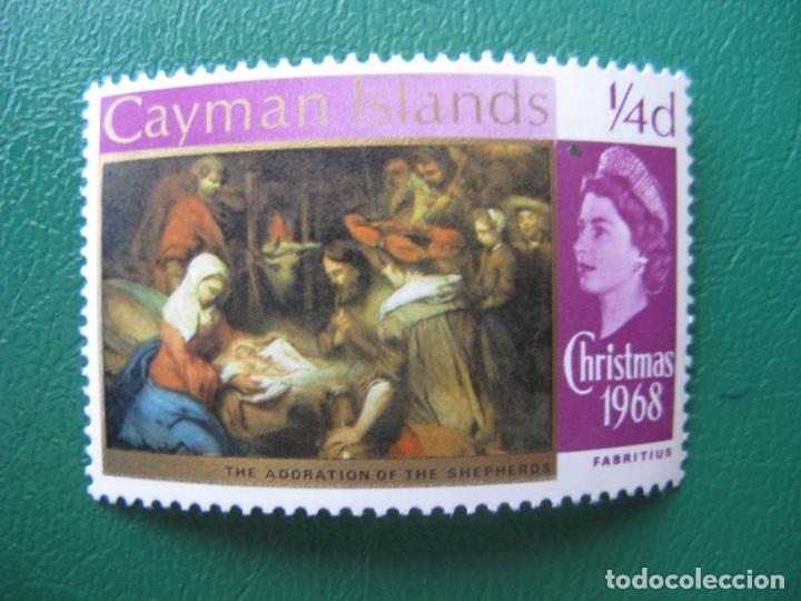 *ISLAS CAIMAN, 1968, NAVIDAD, YVERT 207 (Sellos - Temáticas - Navidad)
