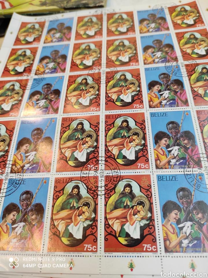 Sellos: Sellos postales de BELICE. Navidad del 80 - Foto 2 - 243552300