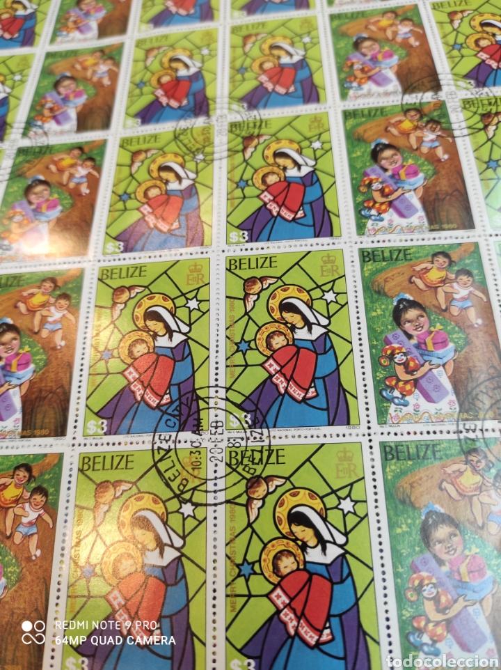 Sellos: Sellos postales de BELICE. Navidad del 80 - Foto 3 - 243552300