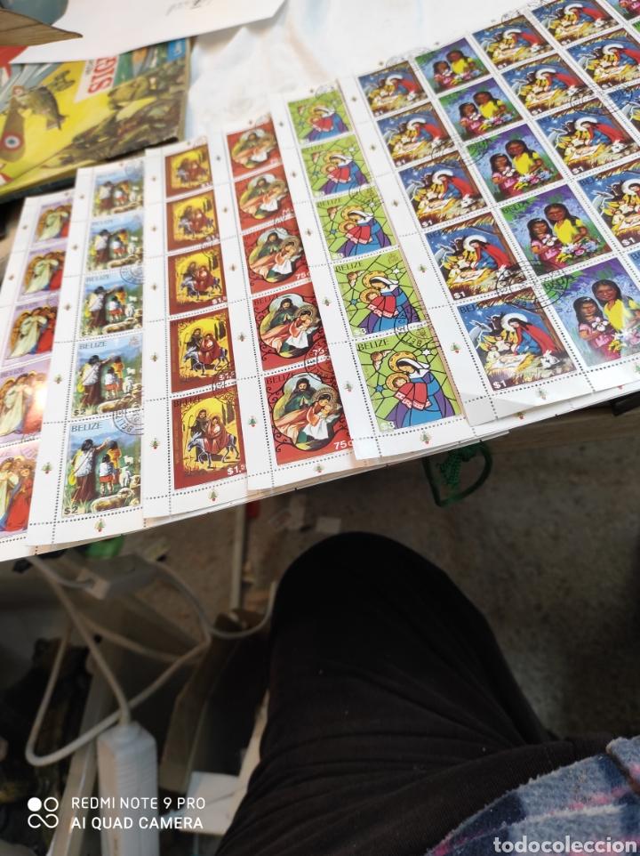 Sellos: Sellos postales de BELICE. Navidad del 80 - Foto 4 - 243552300