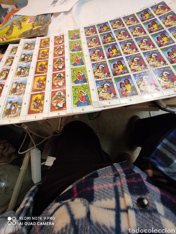 Sellos: Sellos postales de BELICE. Navidad del 80 - Foto 5 - 243552300