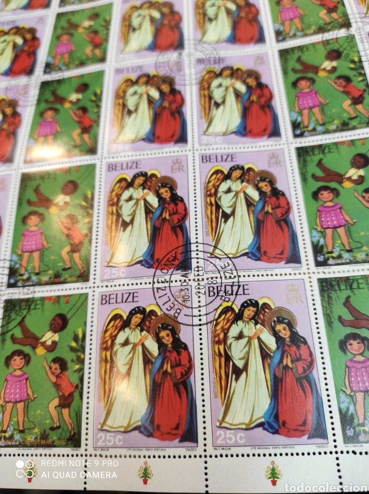 Sellos: Sellos postales de BELICE. Navidad del 80 - Foto 6 - 243552300