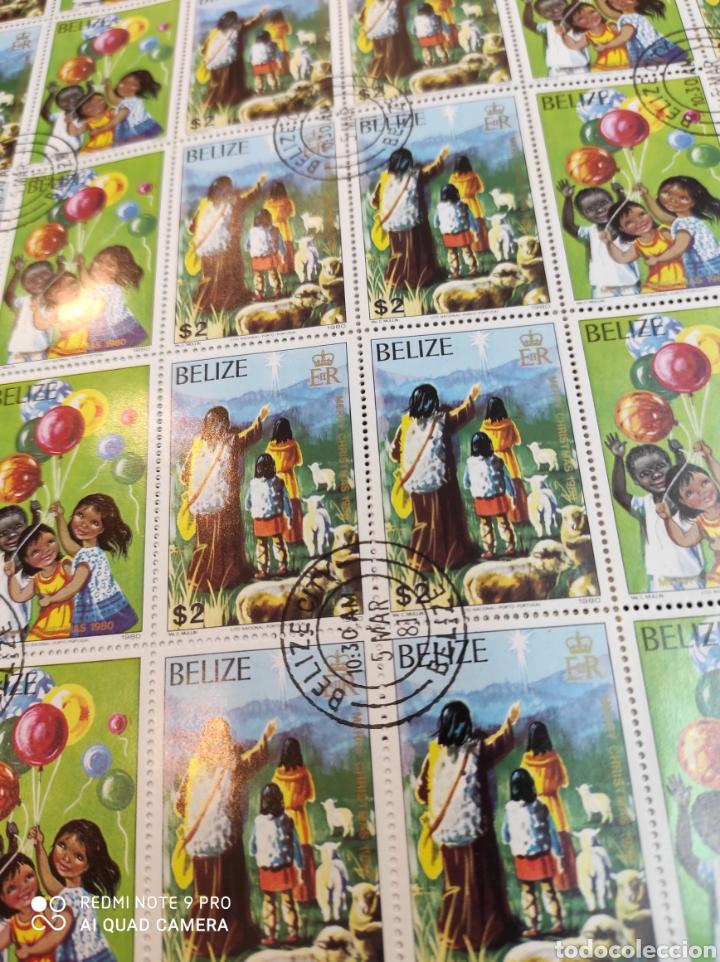 Sellos: Sellos postales de BELICE. Navidad del 80 - Foto 7 - 243552300