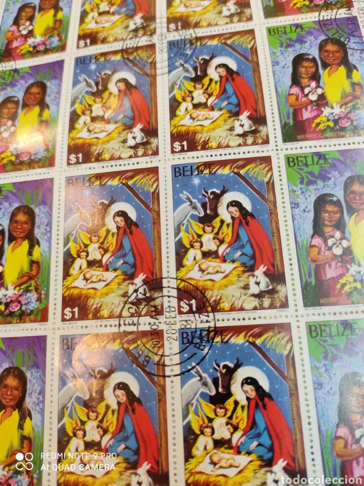 Sellos: Sellos postales de BELICE. Navidad del 80 - Foto 8 - 243552300