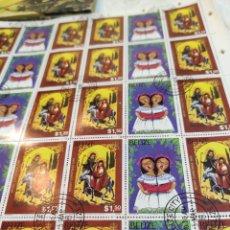 Sellos: SELLOS POSTALES DE BELICE. NAVIDAD DEL 80. Lote 243552300