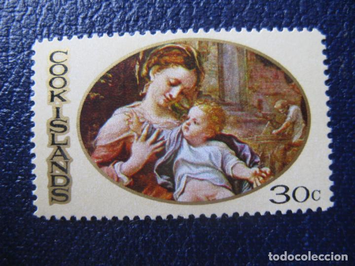 +ISLAS COOK, 1969, NAVIDAD, YVERT 221 (Sellos - Temáticas - Navidad)