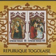 Sellos: F-EX22252 TOGO MNH 1973 CHRISTMAS NAVIDAD. ART RELIGION MEDIEVAL PAINTING. Lote 244621545