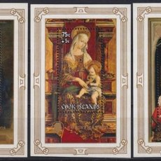 Sellos: F-EX22520 COOK IS MNH 1978 CHRISTMAS NAVIDAD. ART RELIGION CRIVELLI MURILLO VAN DER WEYDEN.. Lote 244621585