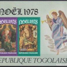 Sellos: F-EX22258 TOGO MNH 1978 CHRISTMAS NAVIDAD. ART RELIGION CRIVELLI TURA.. Lote 244621595