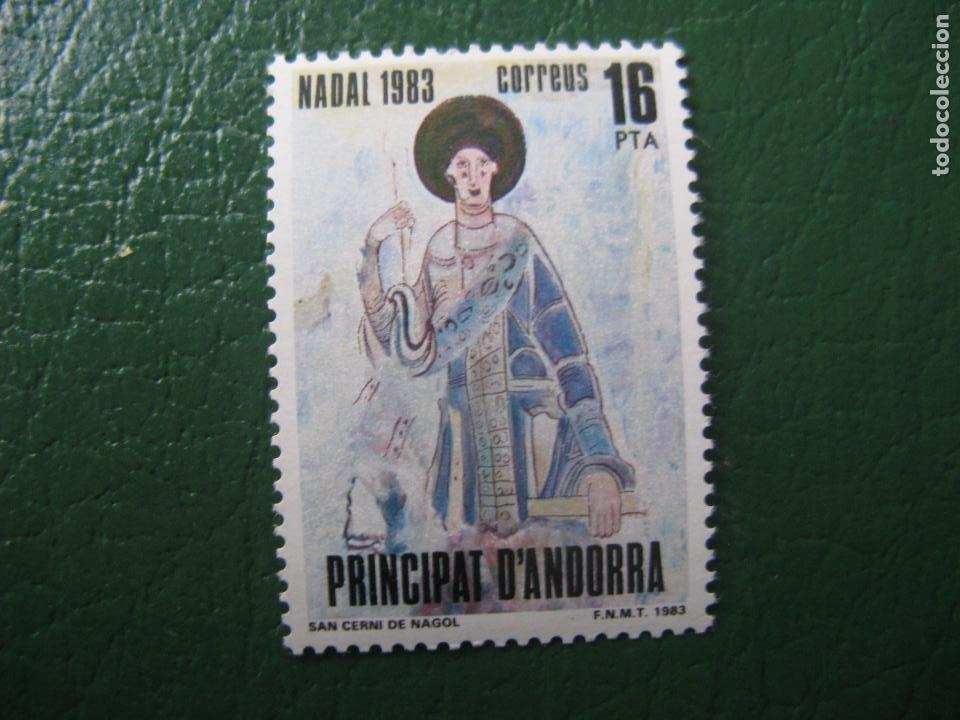 +ANDORRA, 1983, NAVIDAD, EDIFIL 174 (Sellos - Temáticas - Navidad)
