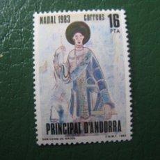 Sellos: +ANDORRA, 1983, NAVIDAD, EDIFIL 174. Lote 244943520