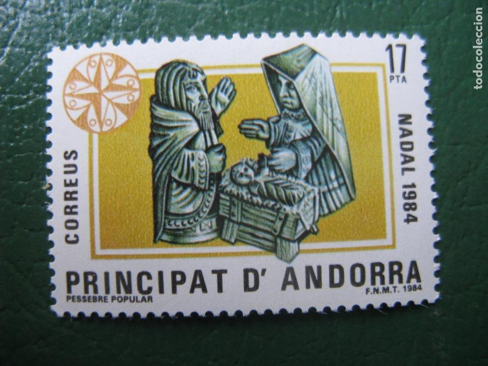 +ANDORRA, 1984, NAVIDAD, EDIFIL 183 (Sellos - Temáticas - Navidad)