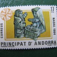 Sellos: +ANDORRA, 1984, NAVIDAD, EDIFIL 183. Lote 244945430