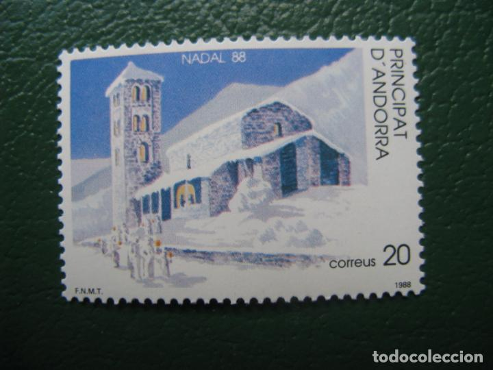 +ANDORRA, 1988*, NAVIDAD, EDIFIL 208 (Sellos - Temáticas - Navidad)