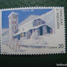 Sellos: +ANDORRA, 1988*, NAVIDAD, EDIFIL 208. Lote 244994405