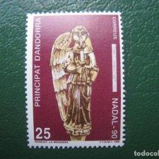 Sellos: +ANDORRA, 1990, NAVIDAD, EDIFIL 222. Lote 244996235