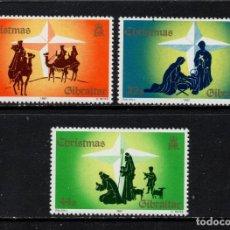 Sellos: GIBRALTAR 552/54** - AÑO 1987 - NAVIDAD. Lote 245991060