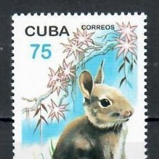 Sellos: ⚡ DISCOUNT CUBA 1999 CHINESE NEW YEAR - YEAR OF THE RABBIT MNH - NEW YEAR, RABBITS. Lote 255628020