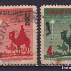 Sellos: ⚡ DISCOUNT CUBA 1956 CHRISTMAS GREETINGS U - CAMELS, CHRISTMAS. Lote 255641085
