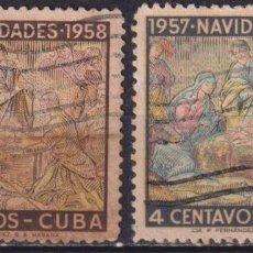 Sellos: ⚡ DISCOUNT CUBA 1957 CHRISTMAS U - CHRISTMAS. Lote 255641250
