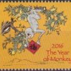 Sellos: ⚡ DISCOUNT FIJI 2016 CHINESE NEW YEAR - YEAR OF THE MONKEY MNH - NEW YEAR, MONKEYS. Lote 261240230