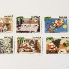 Sellos: 6 SELLOS NUEVOS DE LA ISLA ANGUILA-TEMA NAVIDAD-. Lote 262069280