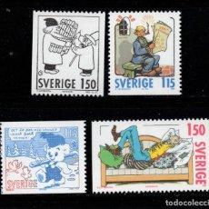 Sellos: SUECIA 1106/09** - AÑO 1980 - NAVIDAD. Lote 262782340