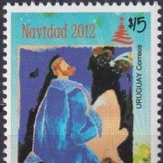 Sellos: ⚡ DISCOUNT URUGUAY 2012 CHRISTMAS MNH - CHRISTMAS. Lote 262873235