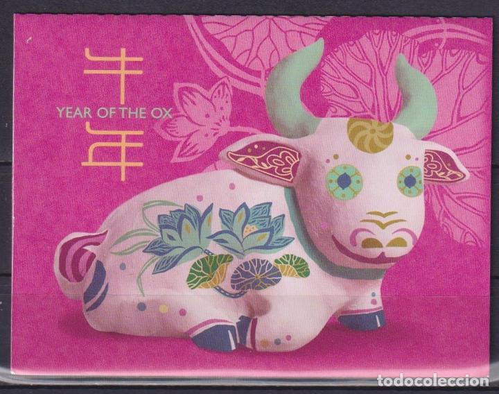 ⚡ DISCOUNT SINGAPORE 2021 CHINESE NEW YEAR - YEAR OF THE OX MNH - NEW YEAR (Sellos - Temáticas - Navidad)