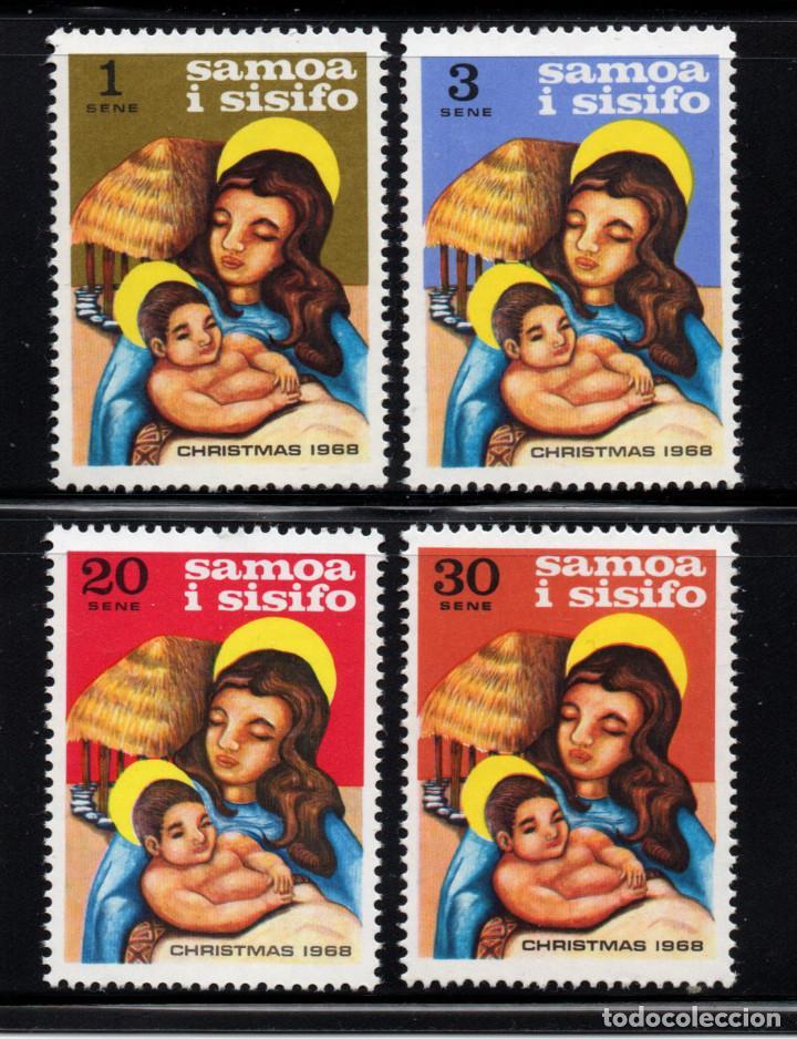 SAMOA 237/40** - AÑO 1968 - NAVIDAD (Sellos - Temáticas - Navidad)