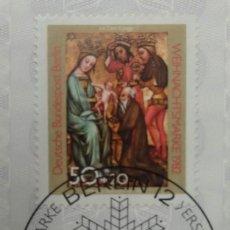 Sellos: ALEMANIA BERLÍN 1982. CHRISTMAS 1982. Lote 267373049