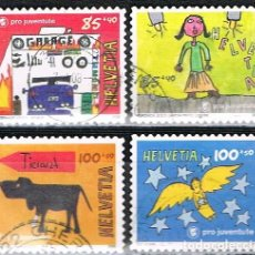 Sellos: SUIZA 1980/3, NAVIDAD 2006, USADO (SERIE COMPLETA). Lote 268441564