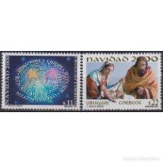 Sellos: ⚡ DISCOUNT URUGUAY 2000 CHRISTMAS MNH - CHRISTMAS. Lote 270389428