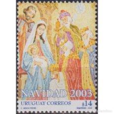 Sellos: ⚡ DISCOUNT URUGUAY 2003 CHRISTMAS MNH - RELIGION, CHRISTMAS. Lote 270389978