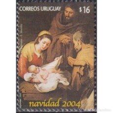 Sellos: ⚡ DISCOUNT URUGUAY 2004 CHRISTMAS MNH - RELIGION, CHRISTMAS. Lote 274793363