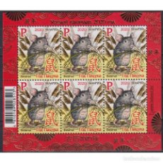 Sellos: ⚡ DISCOUNT BELARUS 2020 YEAR OF THE RAT MNH - NEW YEAR, RODENTS. Lote 274796988