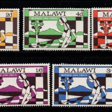 Sellos: MALAWI 138/42** - AÑO 1970 - NAVIDAD. Lote 277493618