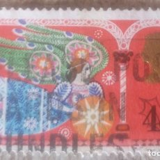 Sellos: INGLATERRA 1969, NAVIDAD,ANGEL. Lote 277652843