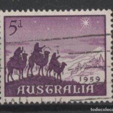 Sellos: AUSTRALIA 1959 NAVIDAD SELLO USADO * LEER DESCRIPCION. Lote 278274363