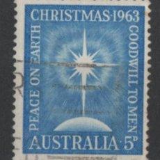Sellos: AUSTRALIA 1963 NAVIDAD SELLO USADO * LEER DESCRIPCION. Lote 278274398